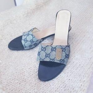 Gucci Shoes - Authentic Vintage Gucci Slides